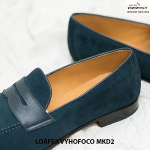 Giày nam lười da bò đẹp loafer Vyhofoco MKD2 cao cấp 002