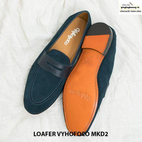 Giày tây nam lười da bò loafer Vyhofoco MKD2 cao cấp 002