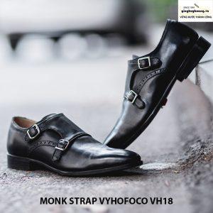 Giày tây da nam Monk Strap Vyhofoco VH18 cao cấp 001