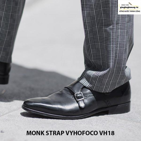 Giày tây da nam Monk Strap Vyhofoco VH18 giá rẻ chính hãng 004