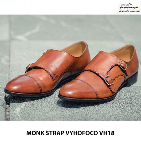 Giày tây da nam Monk Strap Vyhofoco VH18 cao cấp chính hãng 003