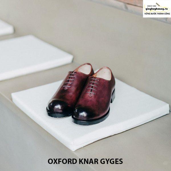 Giày tây da nam Oxford knar gyges cao cấp chính hãng 008