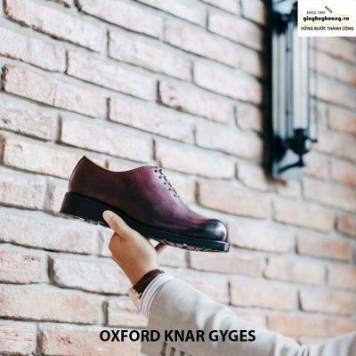 Giày da nam Oxford knar gyges giá rẻ chính hãng 007