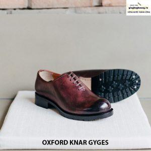 Giày tây da bò nam Oxford knar gyges cao cấp chính hãng 005