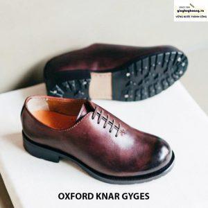 Giày da nam giá rẻ Oxford knar gyges cao cấp chính hãng 003