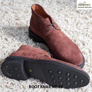 Giày tây da lộn nam cổ cao boot knar no59 chính hãng giá rẻ 006
