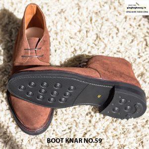 Giày da nam cổ cao boot knar no59 chính hãng giá rẻ 003
