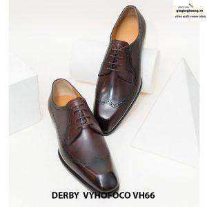 Giày nam da bò nam tính derby vyhofoco vh66 cao cấp chính hãng 004