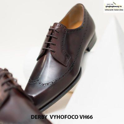 Giày tây nam da bò nam tính derby vyhofoco vh66 cao cấp chính hãng 003