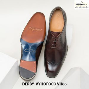 Giày nam da bò đẹp derby vyhofoco vh66 cao cấp chính hãng 003