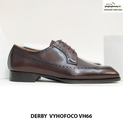 Giày tây nam da bò derby vyhofoco vh66 cao cấp chính hãng 001