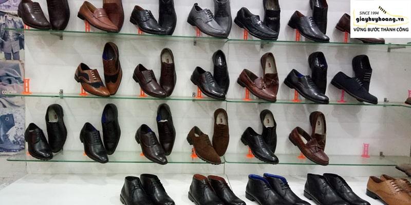 Shop cửa hàng giày da bò nam cao cấp thủ công tại Long An