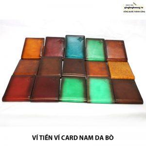 Ví name card danh thiếp cnes VN116 cao cấp 002