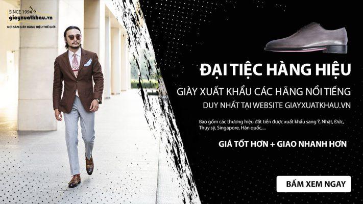 Banner giới thiệu giày giá rẻ xuất khẩu việt nam giayxuatkhau.vn