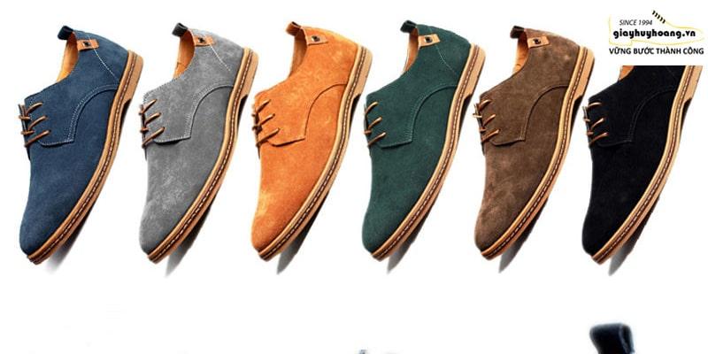 Hướng dẫn cách làm sạch giày da lộn chính hãng cao cấp huy hoàng