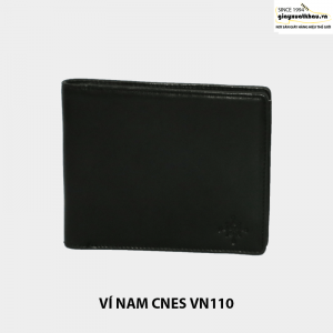 Bóp ví nam da bò giá rẻ CNES VN110 cao cấp 002