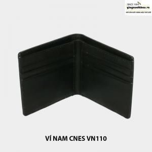 Bóp ví nam da bò giá rẻ CNES VN110 cao cấp 001