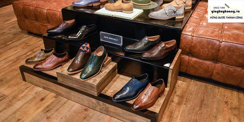 5 giày Oxford nam chính hãng Huy Hoàng hàng hiệu