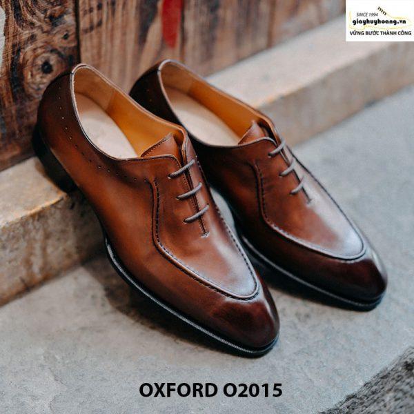Giày oxford da bò thật huy hoàng O2015 001