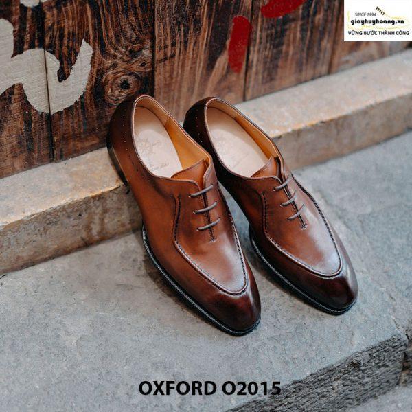 Giày oxford da bò thật huy hoàng O2015 003