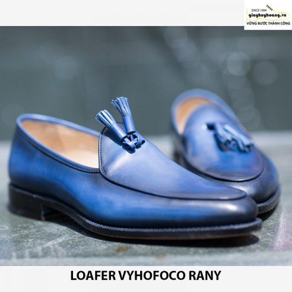 Giày lười da nam công sở Vyhofoco Randy chính hãng cao cấp 001