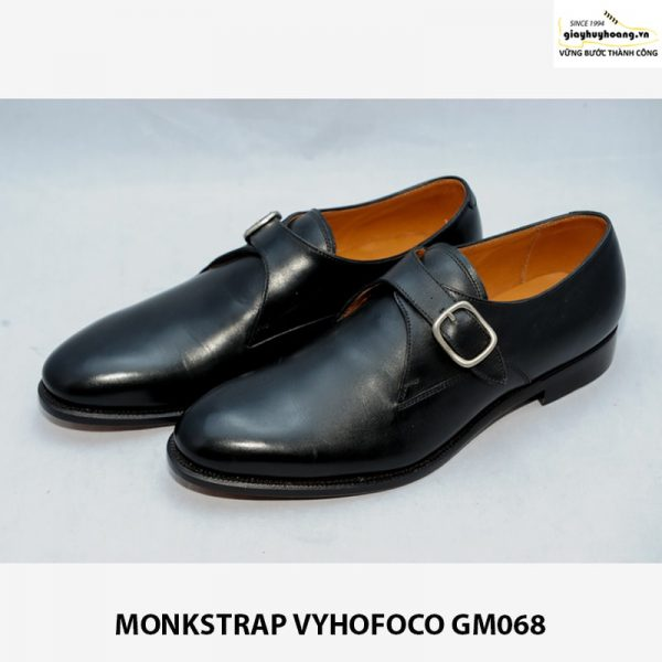 Bán Giày nam công sở Single Monkstrap Vyhofoco GM068 chính hãng 001