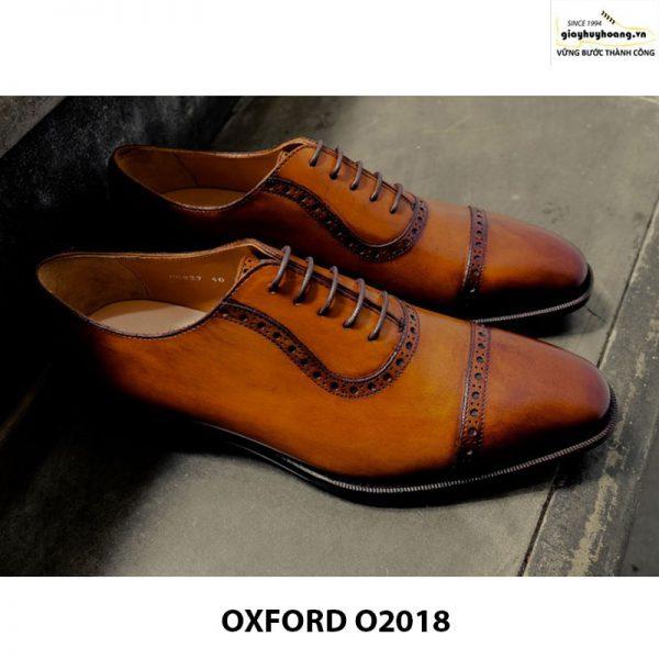 Giày tây nam đẹp Oxford O2018 004
