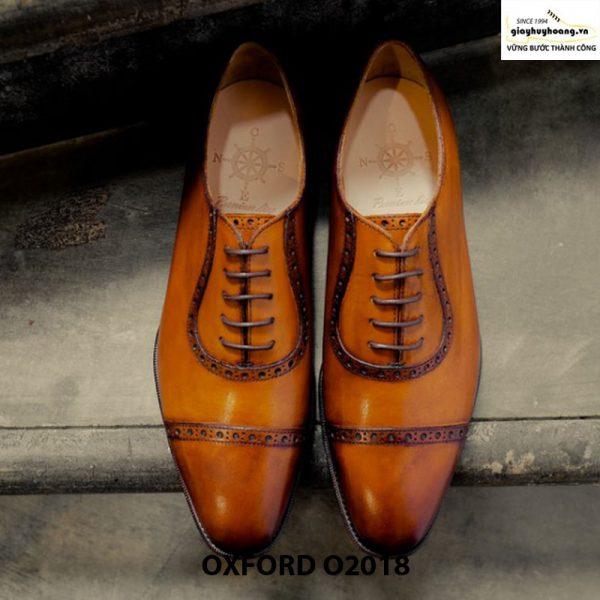 Giày tây nam đẹp Oxford O2018 003