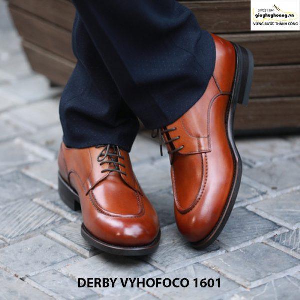 Bán Giày da nam đẹp công sở Derby Vyhofoco 1601 cao cấp giá rẻ 005