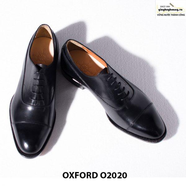 Giày tây nam da bò thật Huy Hoàng Oxford O2020 006