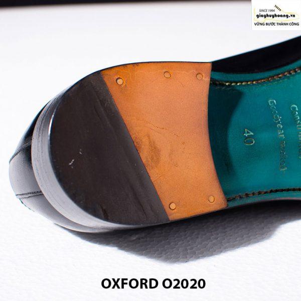 Giày tây nam da bò thật Huy Hoàng Oxford O2020 005