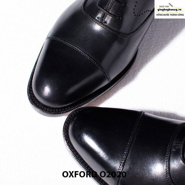 Giày tây nam da bò thật Huy Hoàng Oxford O2020 004