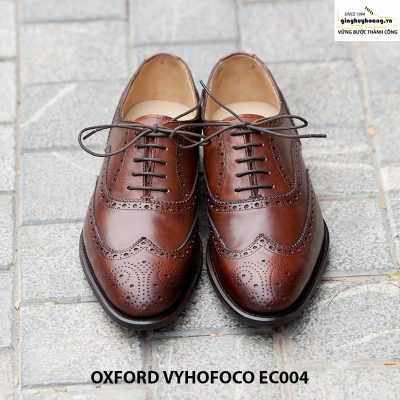 Bán Giày tây nam da bò Oxford Vyhofoco EC004 chính hãng cao cấp 001