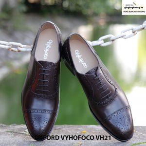 bán Giày tây nam cột dây Oxford Vyhofoco VH21 chính hãng 001