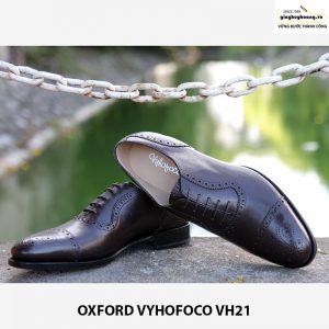 bán Giày tây nam cột dây Oxford Vyhofoco VH21 cho nam giới 005