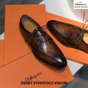 Bán Giày tây nam công sở đẹp Derby Vyhofoco VH03M thủ công huy hoàng 002
