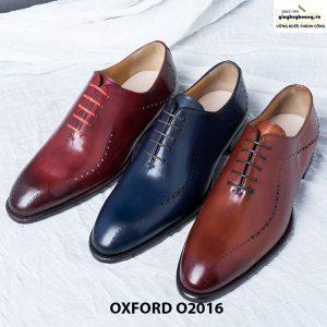 Giày oxford nam đế da O2016 001