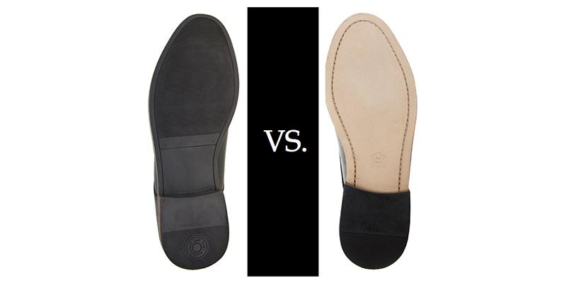 Nên mua giày da nam đế da hay để cao su tốt hơn???