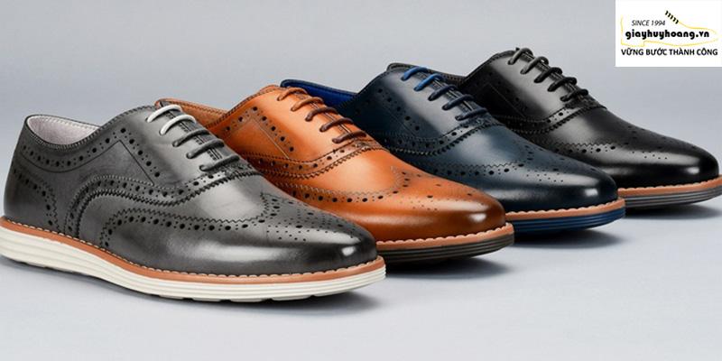 Các loại Giày oxford: plain, cap-toe, wingtip, wholecut và cách phân biệt