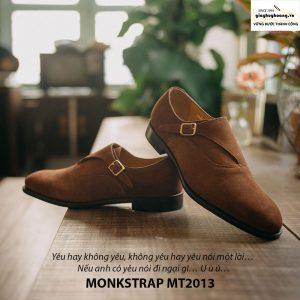 Giày tây nam Monkstrap da lộn MT2013 004