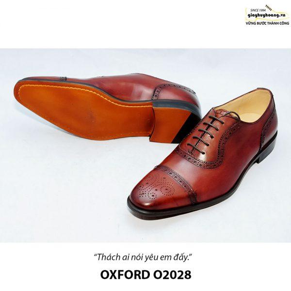 Giày da nam đẹp O2028 Oxford 006