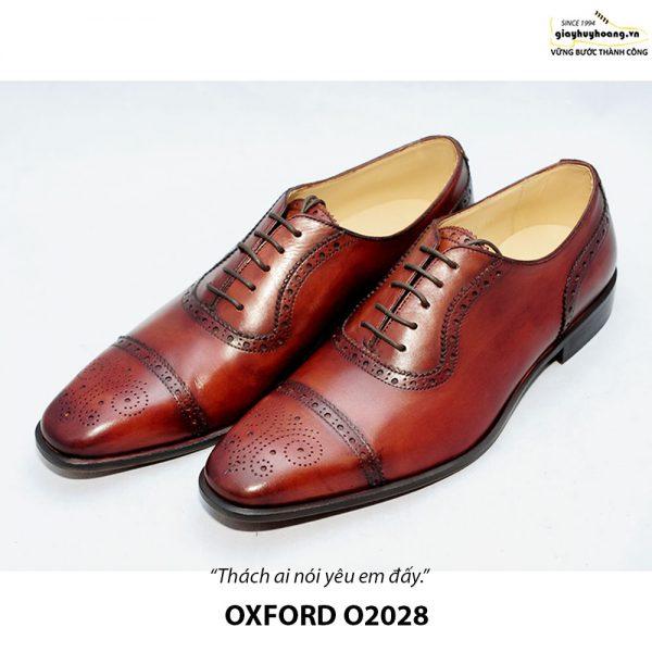 Giày da nam đẹp O2028 Oxford 005