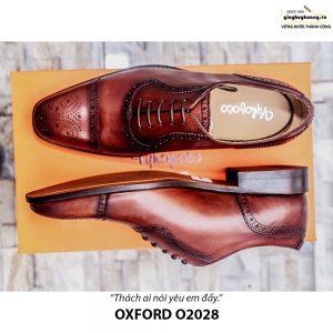Giày da nam đẹp O2028 Oxford 001