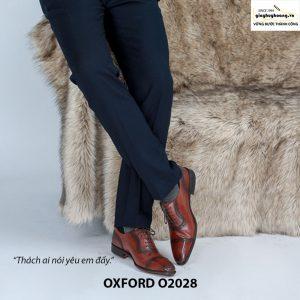 Giày da nam đẹp O2028 Oxford 004