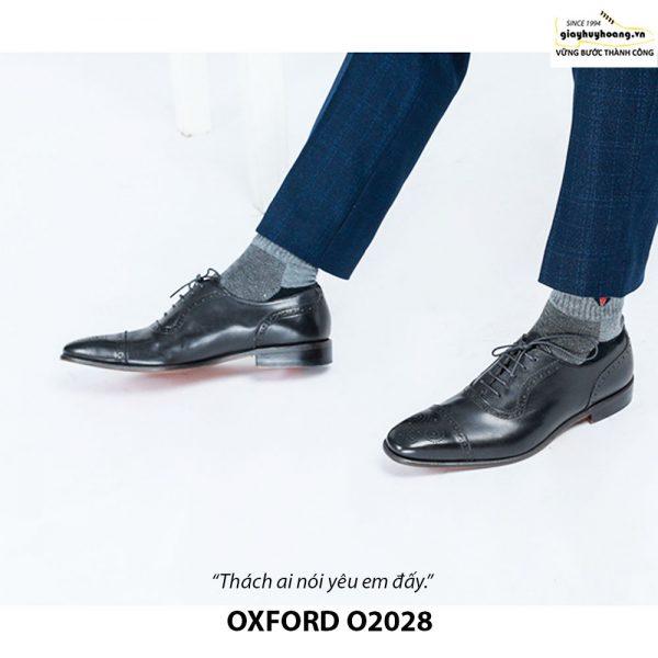 Giày da nam đẹp O2028 Oxford 003
