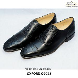 Giày da nam đẹp O2028 Oxford 002