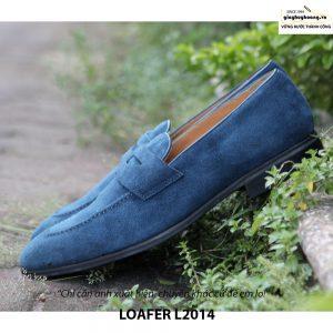 Giày lười da lộn nam đẹp Penny Loafer L2014 004