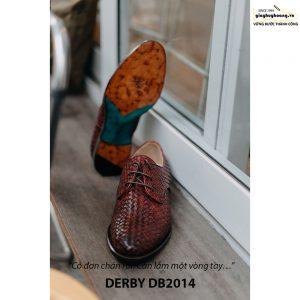 Giày tây nam cột dây đan xen Derby DB2014 003