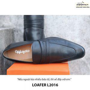 Giày lười nam da bò Loafer L2016 005