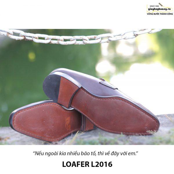 Giày lười nam da bò Loafer L2016 004